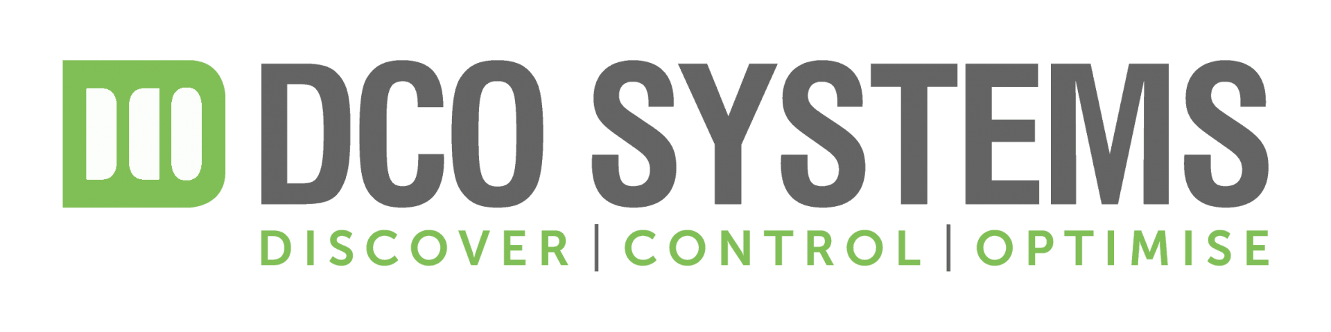 DCO Grey and Green Logo