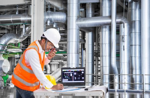 DCO's sensors can monitor and measure industrial equipment