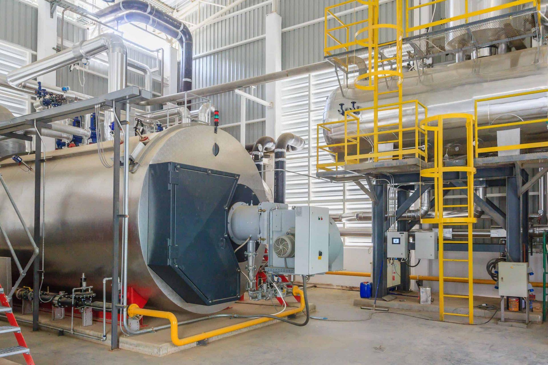 DCO sensors monitor steam boilers