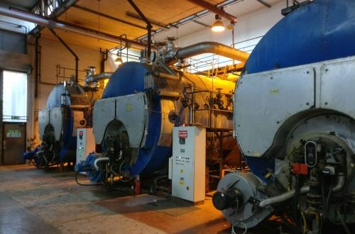 DCO Sensors can monitor industrial steam boilers